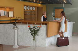 reception отеля Centrum Uniquestay Hotel в Вильнюсе